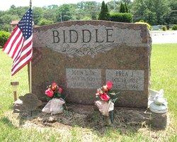Erla J <i>Jones</i> Biddle