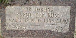 Brent Dee Rose