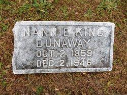 Nannie <i>King</i> Dunaway