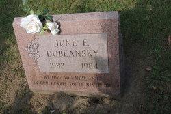 June Eloise <i>Collins</i> Dubeansky