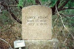 Fanny Malinda <i>Slaughter</i> Adams