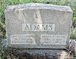 Anna <i>Knight</i> Adams