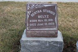 Bertha <i>Sturgis</i> Beltz