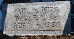 Paul W. Dubs