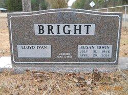 Susan <i>Erwin</i> Bright