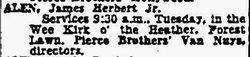 James Herbert Alen, Jr