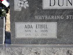 Ada Ethel <i>Braden</i> Dunn