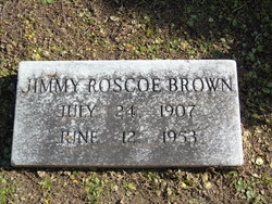 Jimmie Roscoe Brown