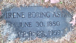 Frances Irene <i>Boring</i> Astin
