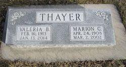 Marion C. Thayer