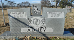 Margaret Ann <i>George</i> Adney