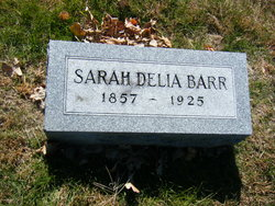 Sarah Delia <i>Zearley</i> Barr