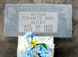 Elizabeth Sarah <i>House</i> Burt/Ogletree/Autrey