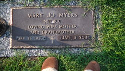 Mary Josephine Jo <i>Ice</i> Myers