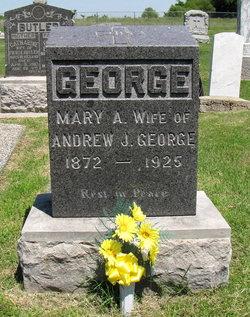 Mary A. <i>Butler</i> George