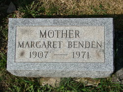 Margaret Benden