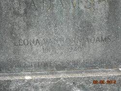 Leona <i>Vanhorn</i> Adams