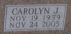 Carolyn Jane <i>Dennis</i> Brown