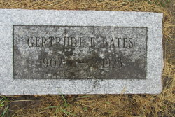 Gertrude Ellen <i>Jacoby</i> Bates