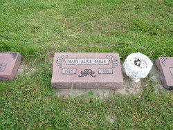 Mary Alice <i>Bishop</i> Baker