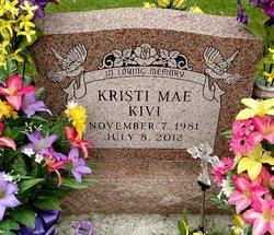 Kristi Mae <i>Bouillion</i> Kivi