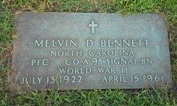 Melvin Dudley Bennett