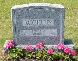 Dorothy F. <i>Dorr</i> Batchelder