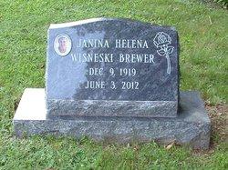 Janina Halina Jennie <i>Wisneski</i> Brewer