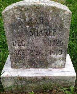 Sarah Sharff