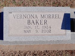 Vernona <i>Morrel</i> Baker