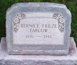 Bernice <i>Frieze</i> Farlow