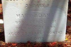 Mary Elizabeth <i>Roberts</i> Adams