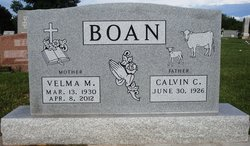 Velma Mae <i>Hammer</i> Boan