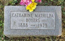 Catharine Mathilda Boyers