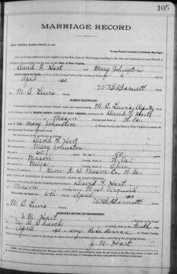 Mary <i>German Johnston</i> Hart