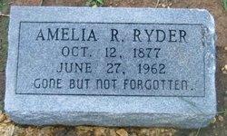 Amelia R Ryder