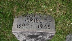 Harold F. Gridley