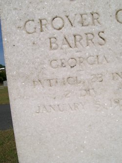 PFC Grover C. Barrs