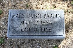 Mary Olivia <i>Dunn</i> Bardin