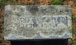 Infant Daughter Adcock