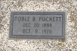 Noble B Puckett