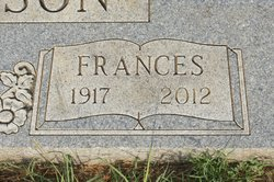 Frances <i>Bailey</i> Anderson