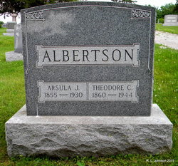 Arsula Jane Sue <i>Farnsworth</i> Albertson