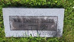 William Emmett Bales