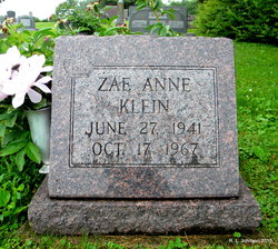 Zae Anne <i>Middleton</i> Klein