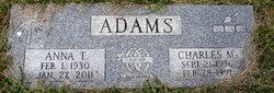 Charles M Adams