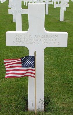PFC Alvin P Anderson