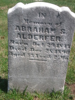 Abraham S Alderfer