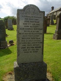 Jane Wilson <i>Brown</i> Bertram