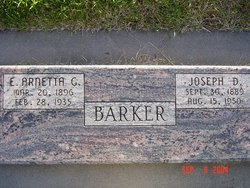 Esther Arnetta <i>Goodliffe</i> Barker